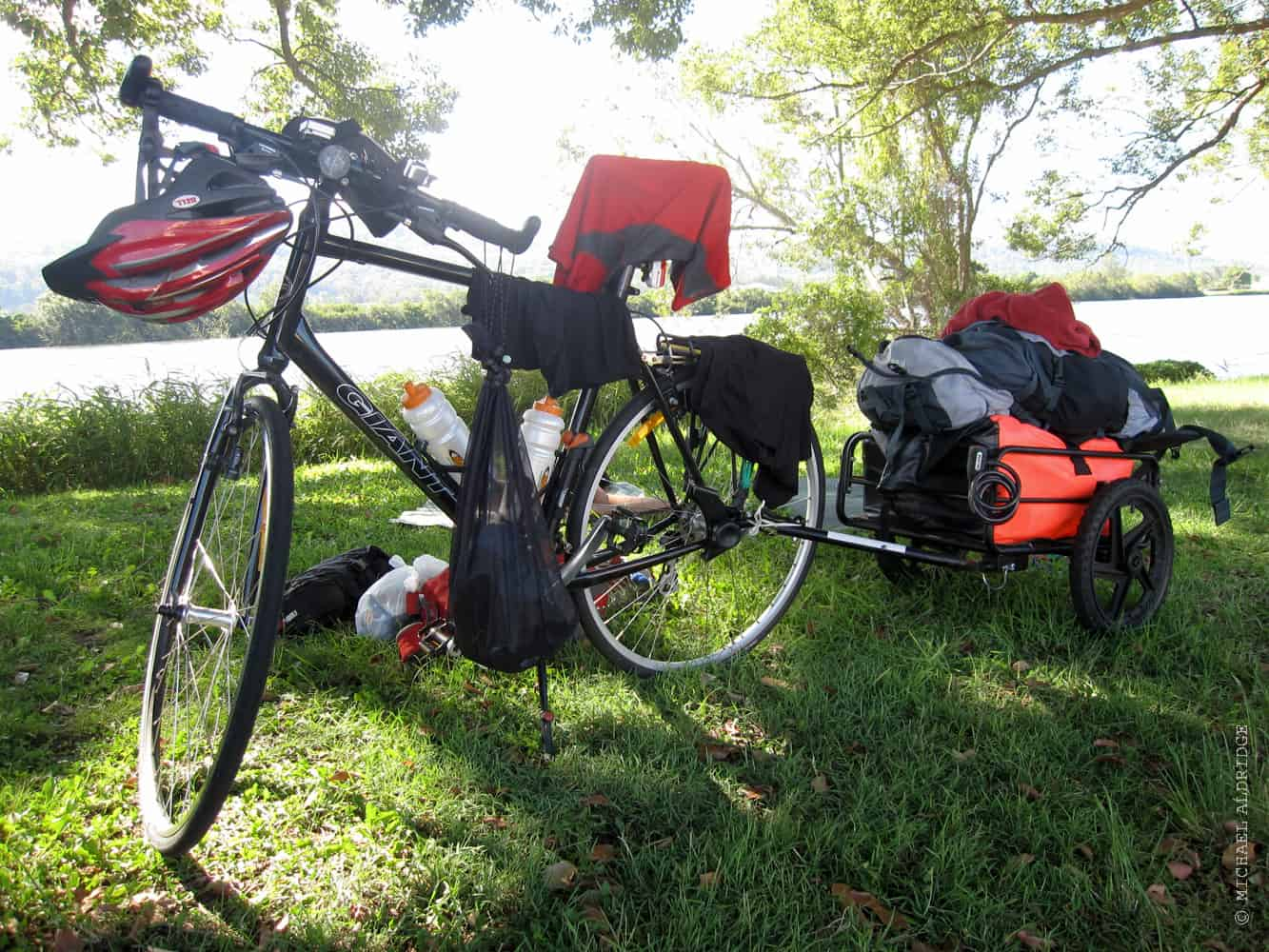 Equipment for bike touring