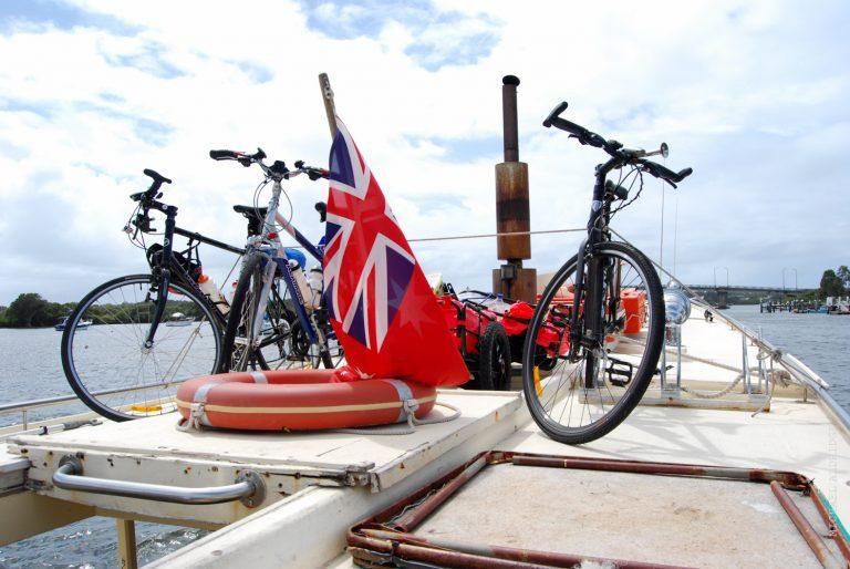 Bikes on a Ferry - Australia