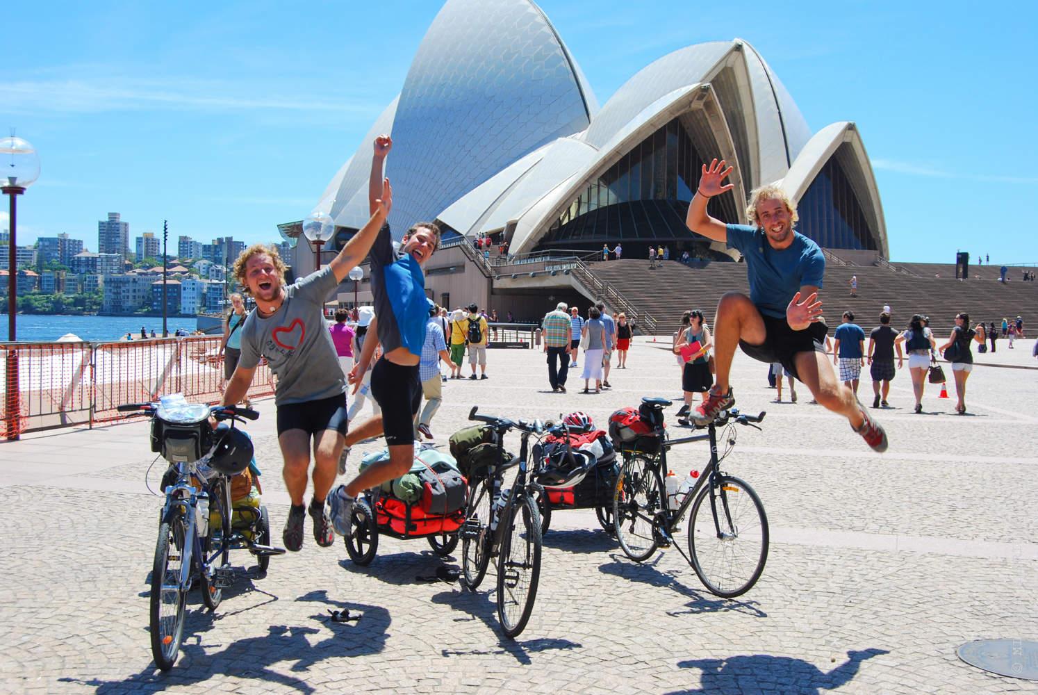 Sydney Opera House Photo Jump