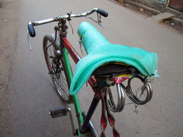 Indian Bike Saddle