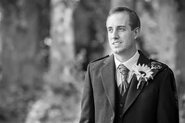 Scottish Wedding Groom