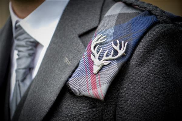 Stags Head Pin