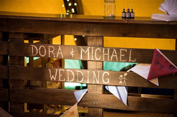 Bar at Dora & Michael's Wedding
