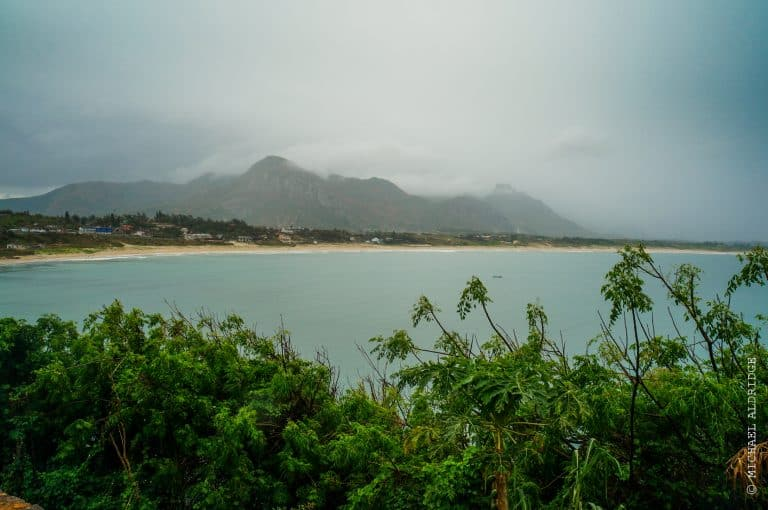 Stormy skies in south Madagascar, the day before a kayaking trip