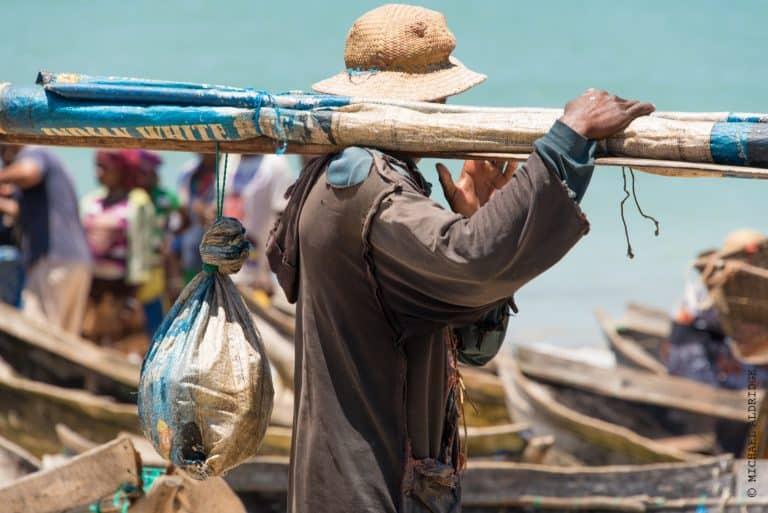 Local fisherman in Madagascar
