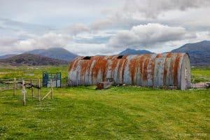 Culkein Rusty Warehouse in Scotland