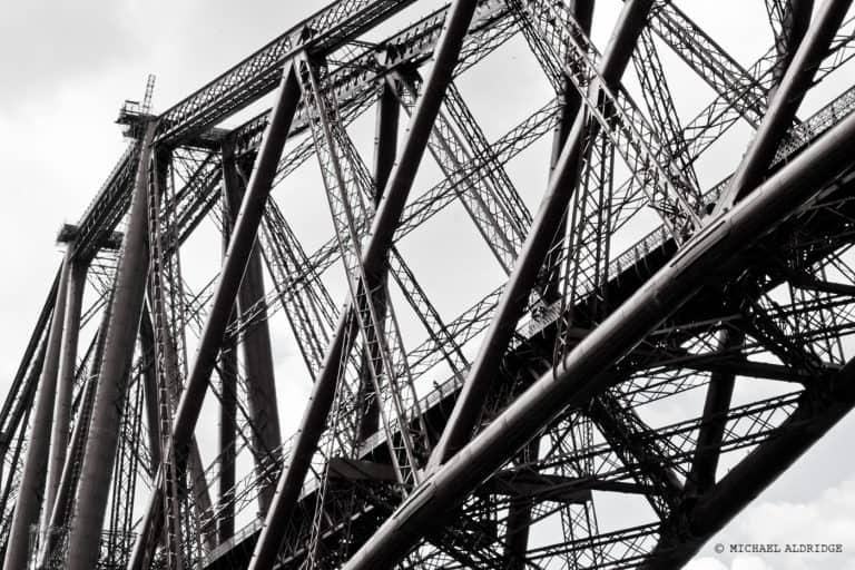 Edinburgh Bridge Steelwork