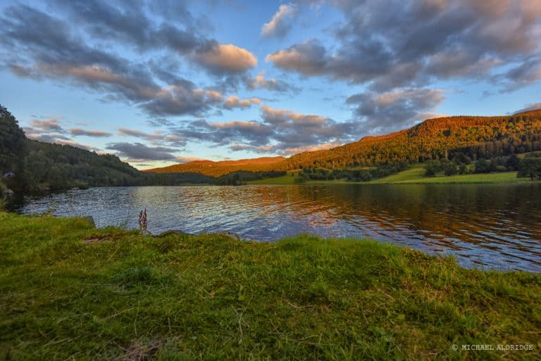 Loch Tummel Sunset, Scotland