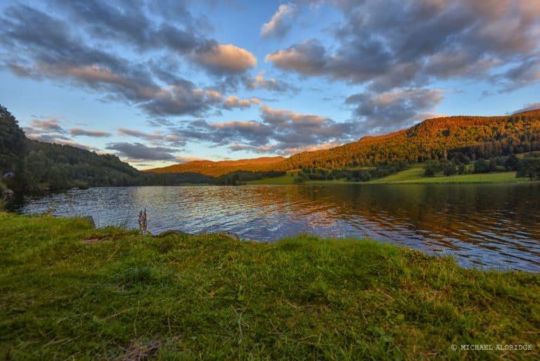 Loch Tummel Sunset, Scotland