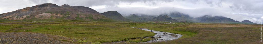 A view from Route 1, Highlands, Iceland