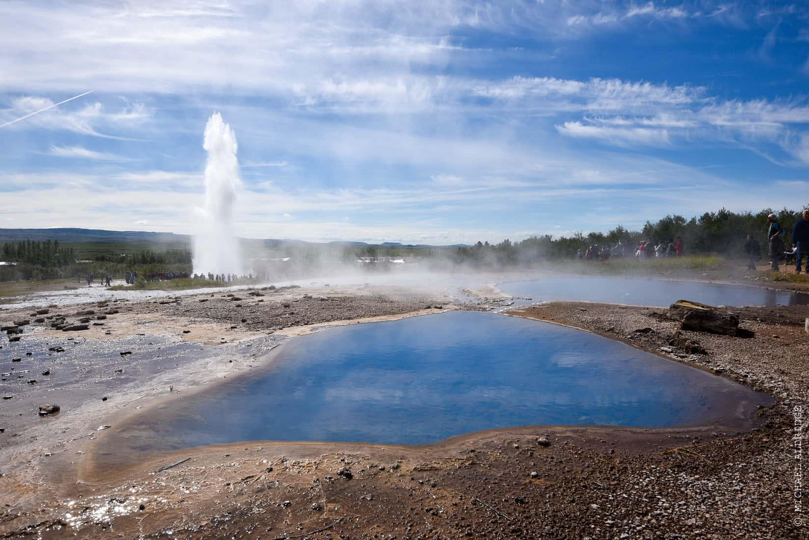 Geysir Hot Springs, Iceland
