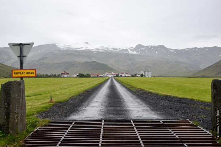 A view from Route 1, Iceland