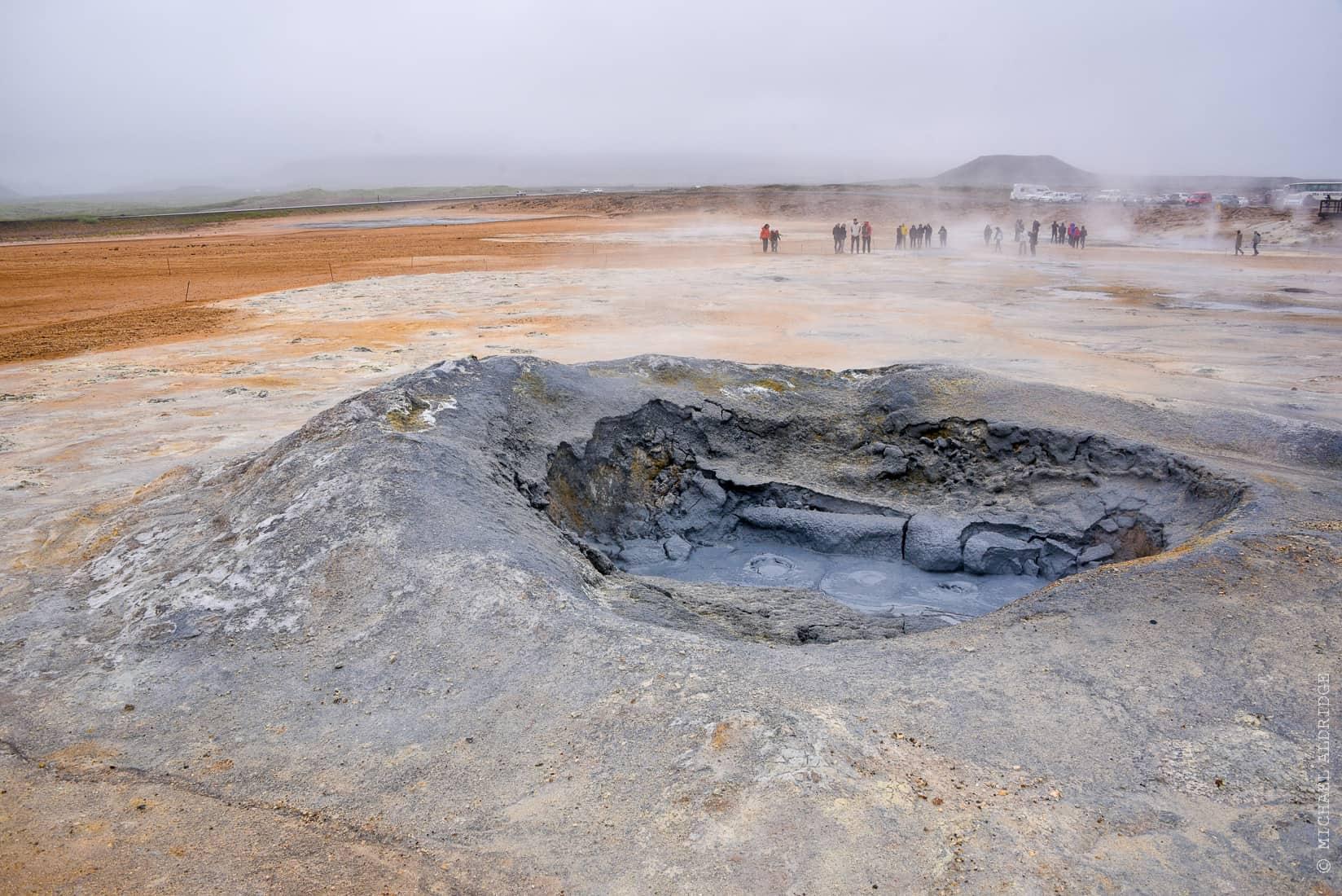 Námafjall Hverir geothermal area, Iceland