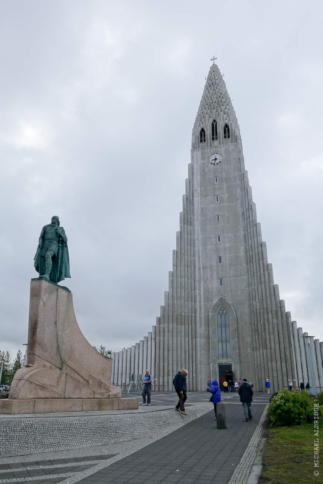 HallgrímskirkjaChruch in Reykjavik, Iceland