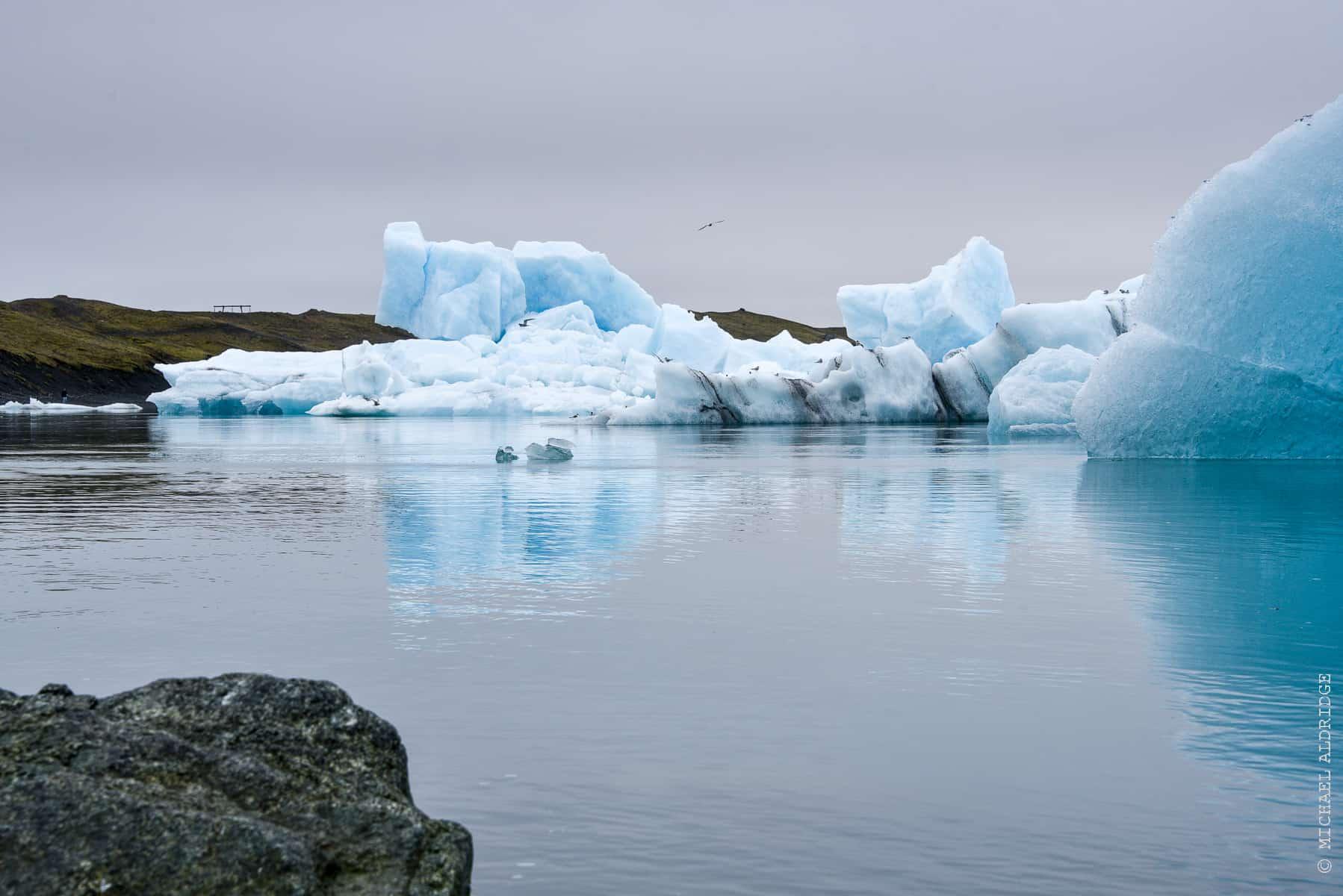 Jökulsárlón Iceberg Lagoon, Iceland