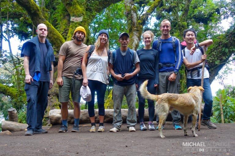 Acatenango Volcano Group Shot