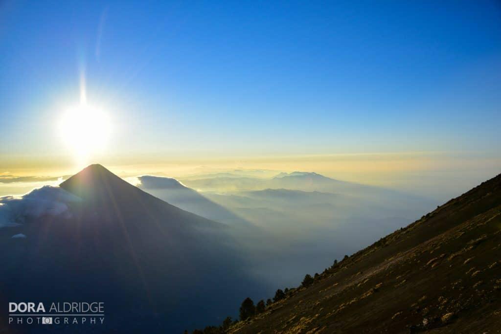 Acatenango Volcano Sunrise 2