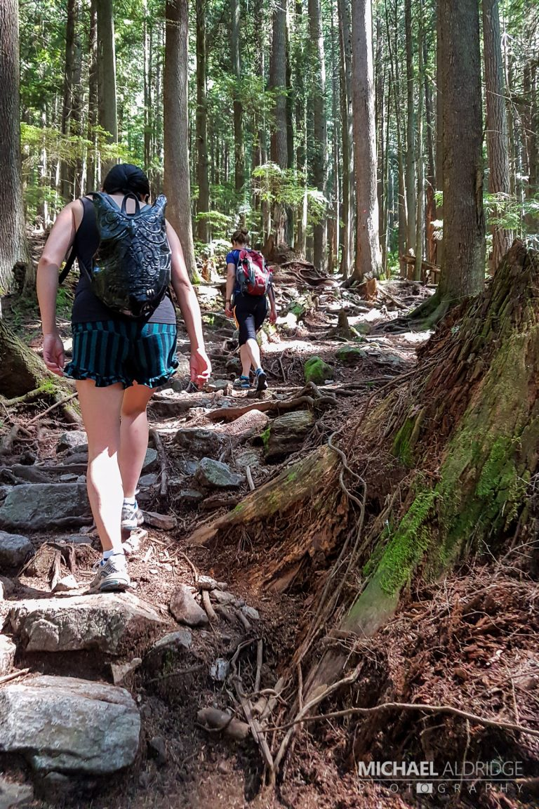 Grouse Mountain Trail - The local trail