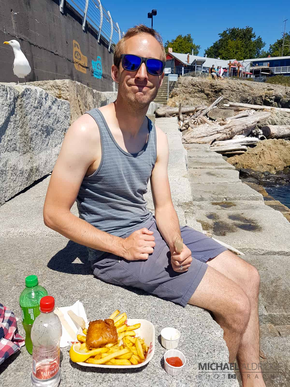 Fish and Chips in Victoria, Vancouver Island