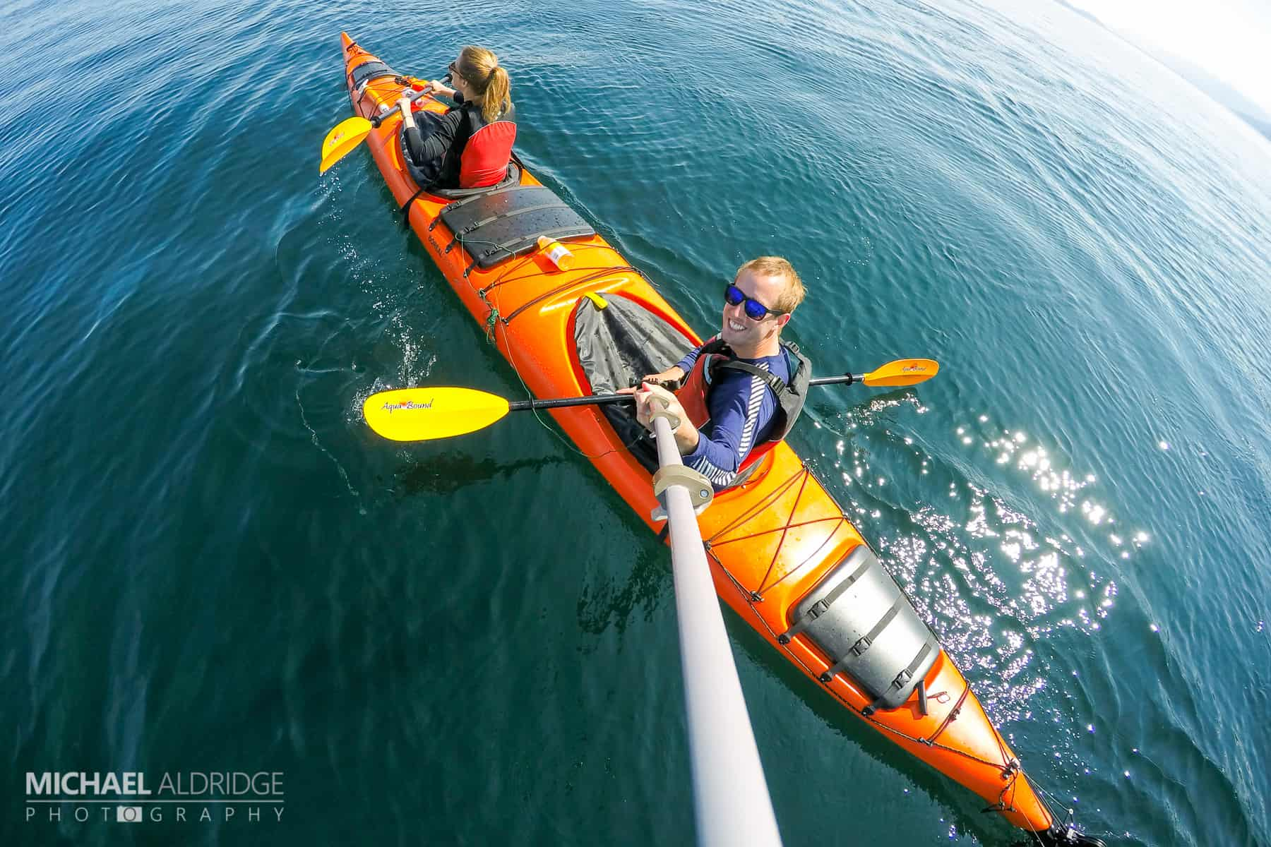 Kayaking the Johnston Strait