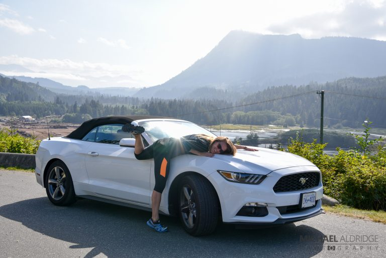 We got a Ford Mustang!