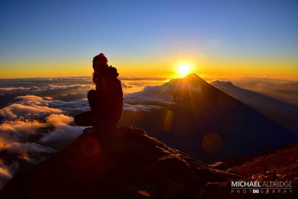 Dora Aldridge Acatenango Sunrise