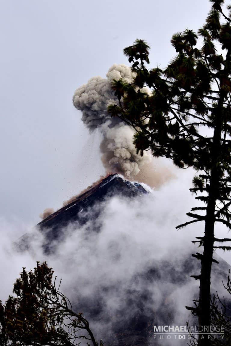 Volcan de Fuego Eruption
