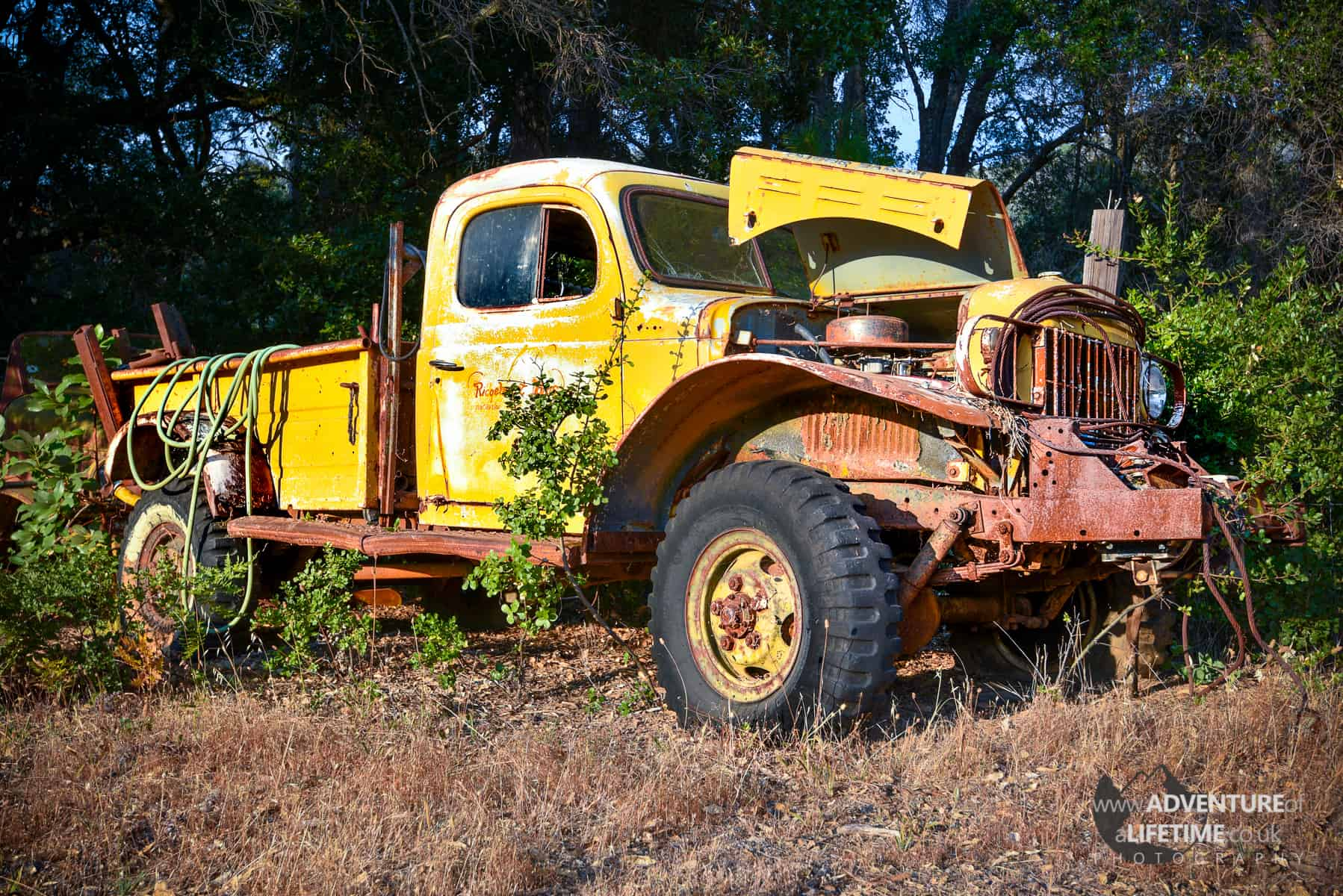 Abandoned Truck in Big Sur