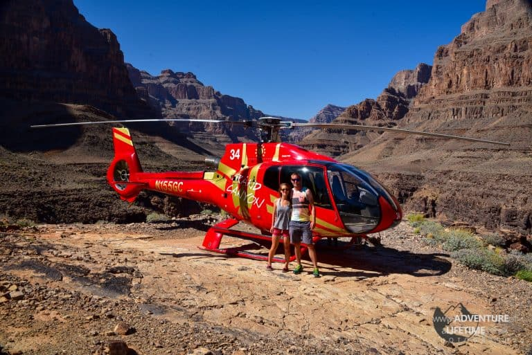 Helicopter Tour over The Grand Canyon