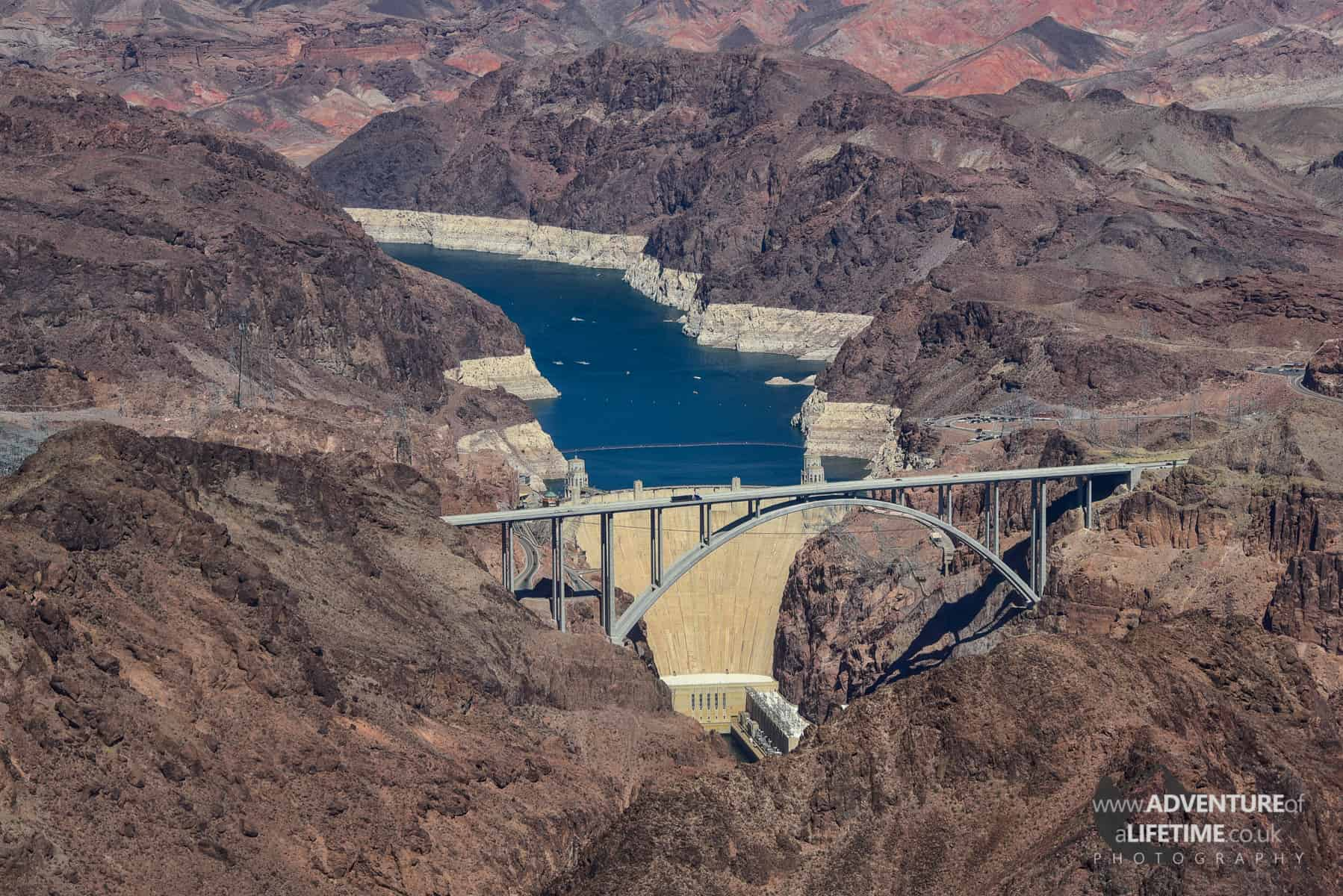 Hoover Dam from the helicopter