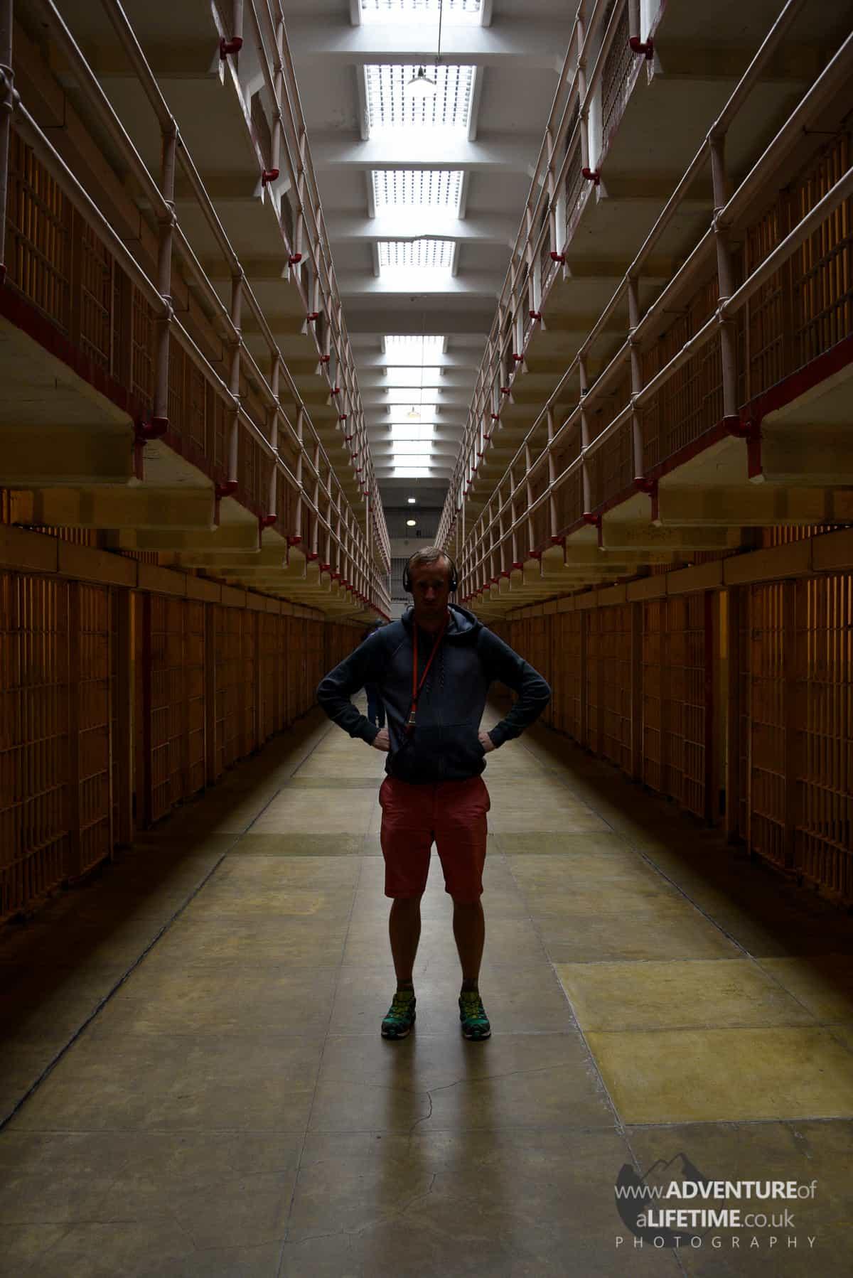 Micheal in Alcatraz