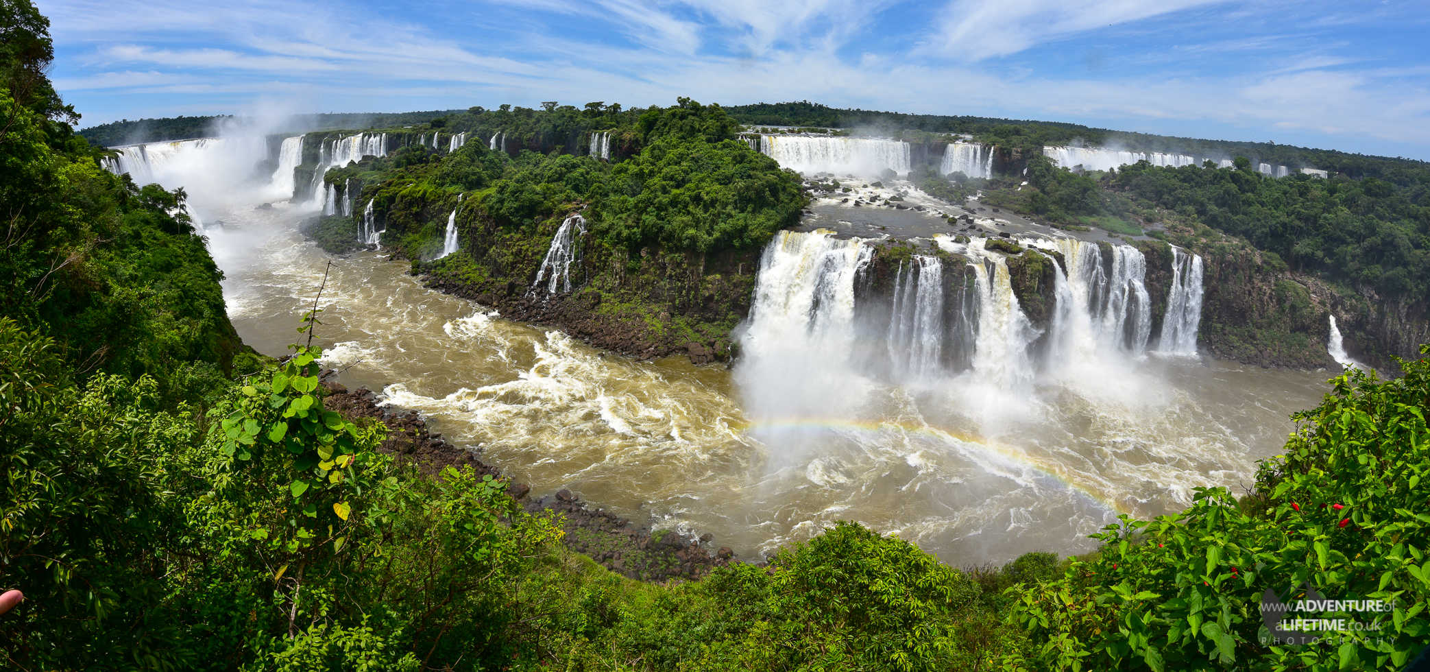 Cataratas Del Iguazu from Brazil