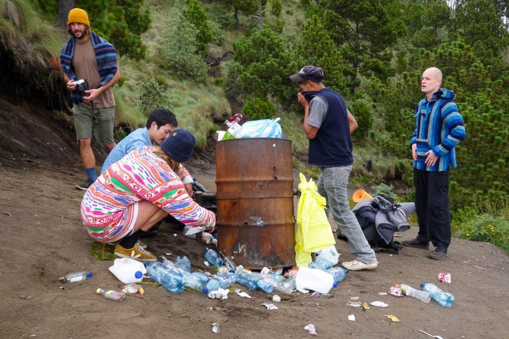 Acatenango Litter Clean Up
