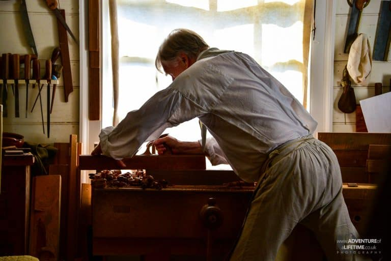 Colonial Williamsburg woodwork