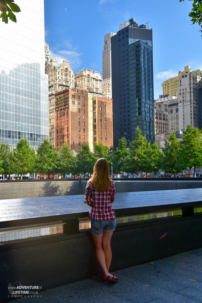 Dora at Ground Zero, New York CIty