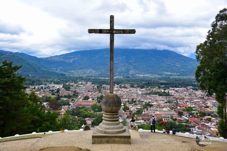 View over Antigua