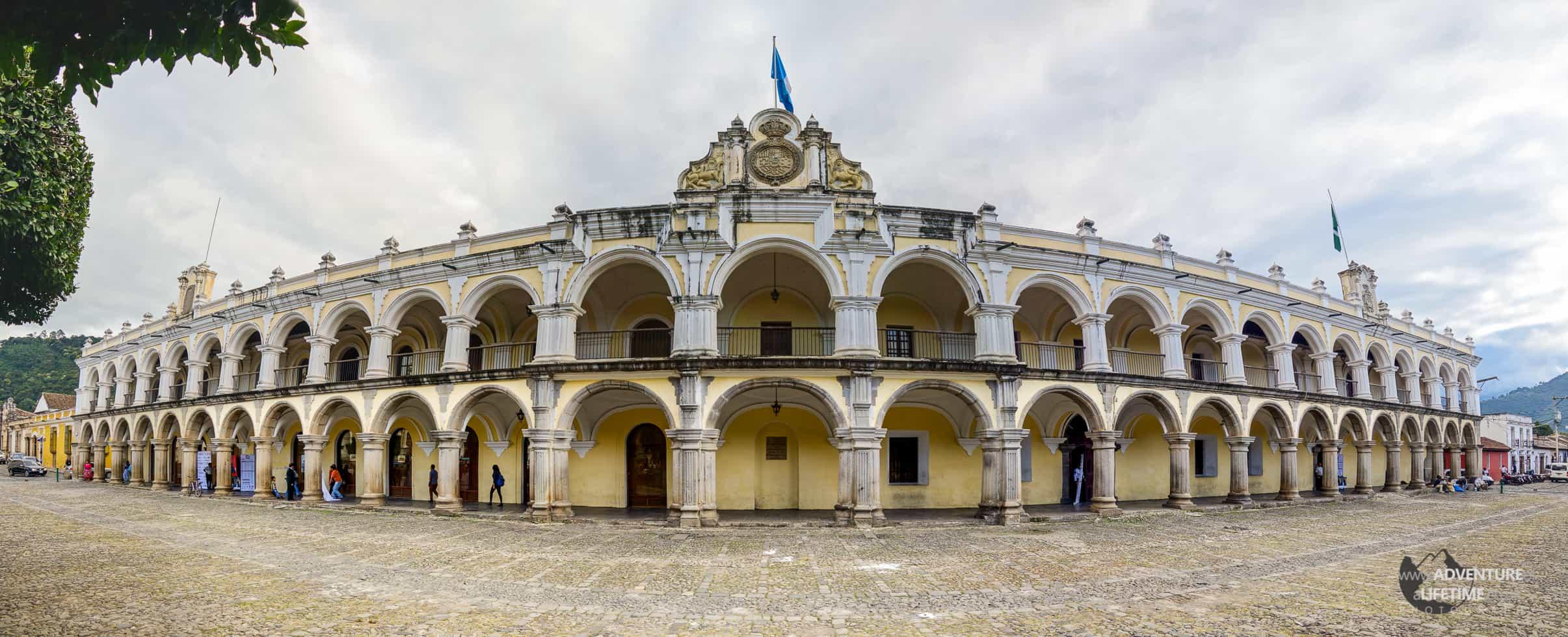 Guatemala - Antigua City Square