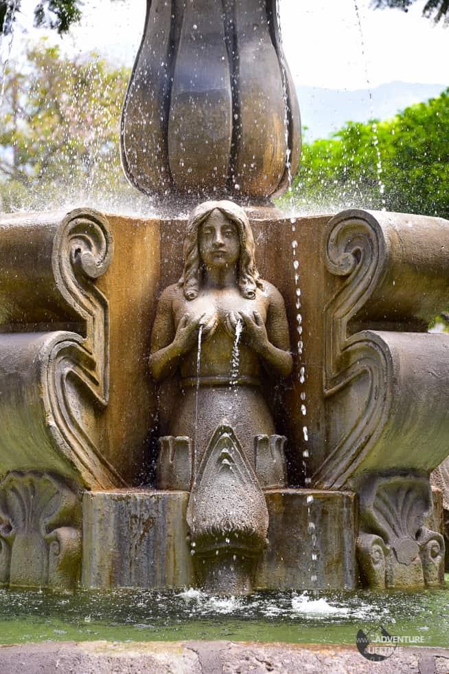 Water Statue, Antigua