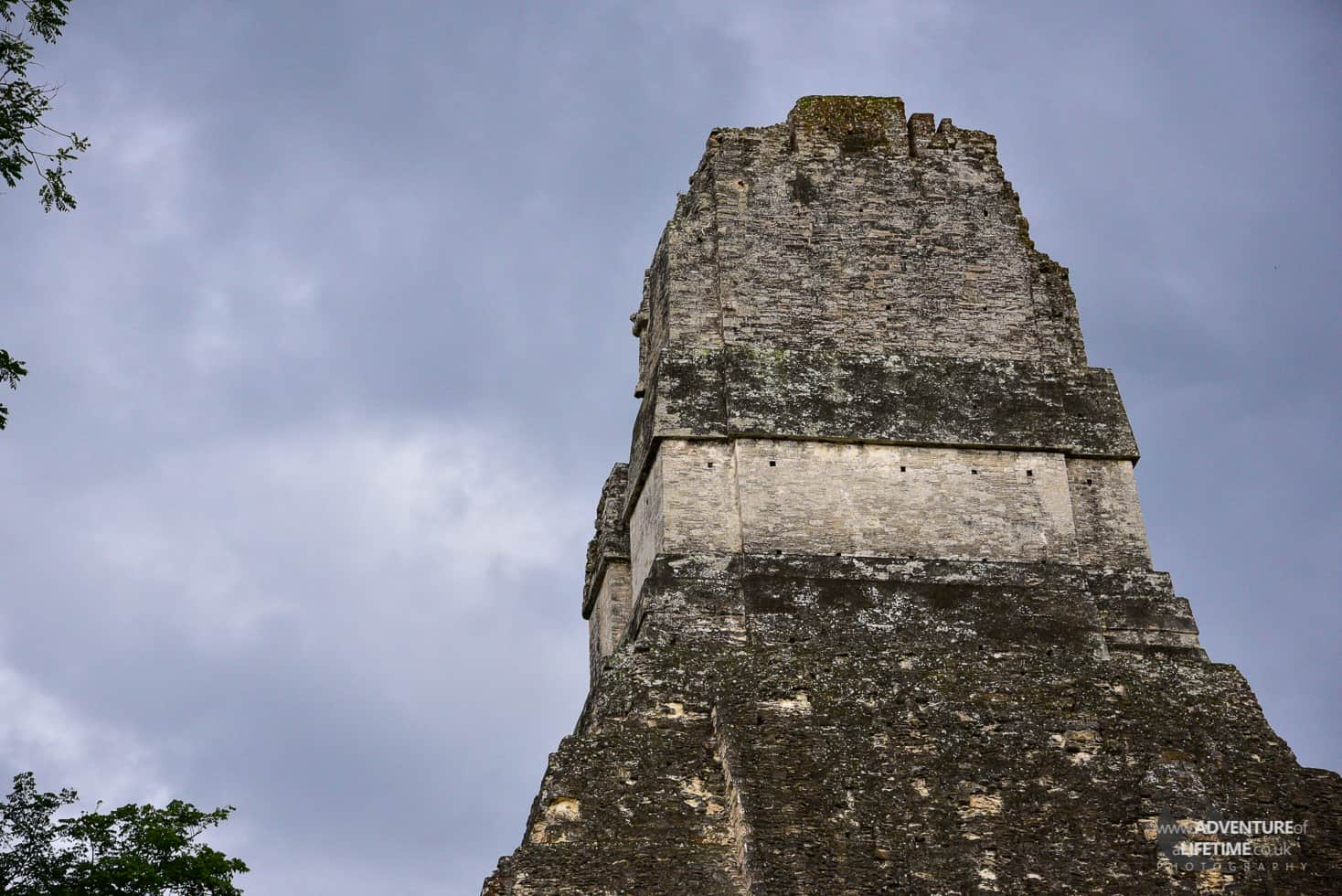 Guatemala - Tikal close up