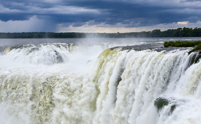The Devil's Throat of Iguazu Falls