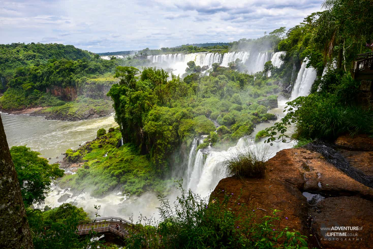 The Landscape of Iguazu from Argentina