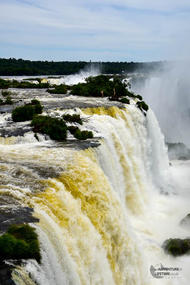 Yellow Waters of Iguazu Waterfalls