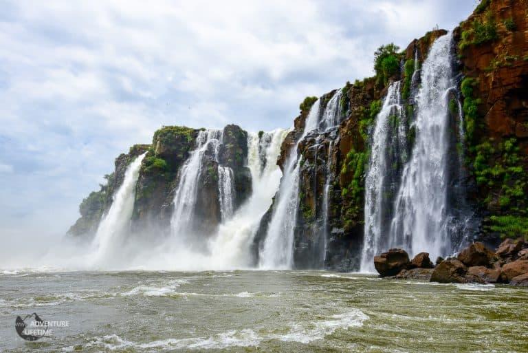 Iguazu Falls from boat trip