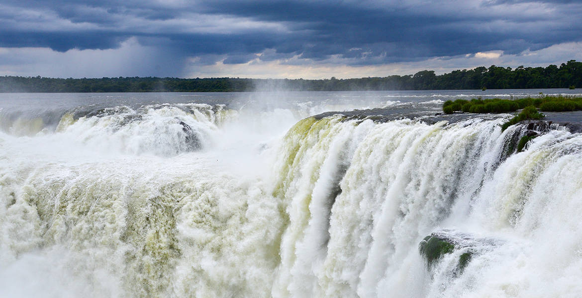 The Devil's Throat of Iguazu Falls