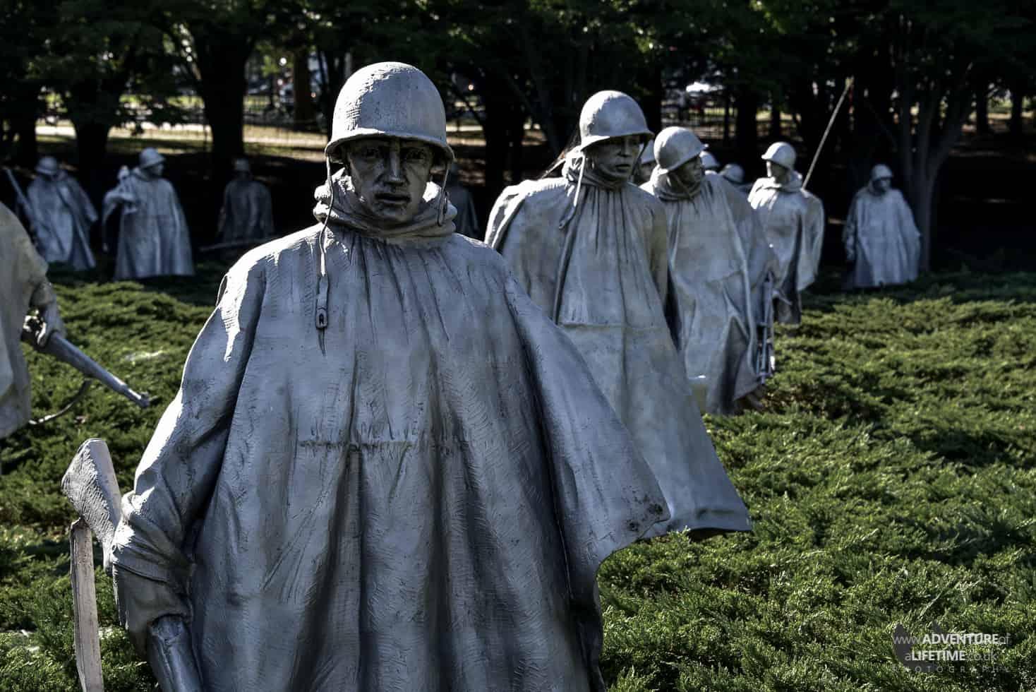 Korean Memorial - Washington DC