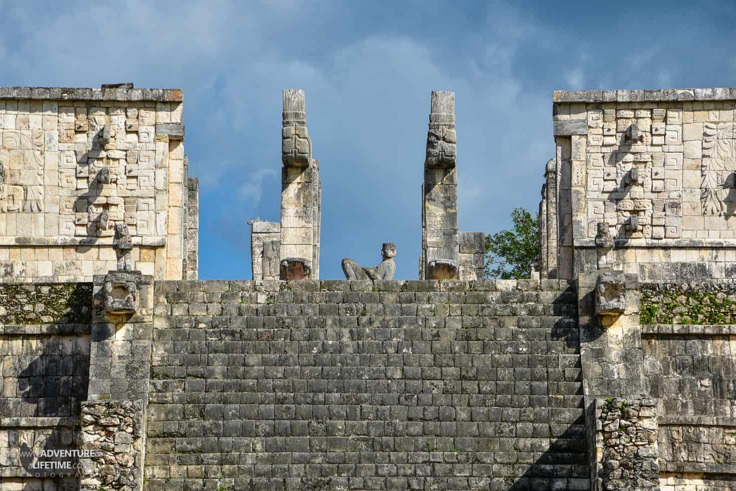 Mexico - Chichen Itza stairway