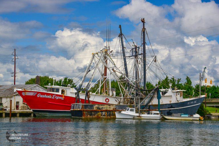 Fishing Boat, North Carolina