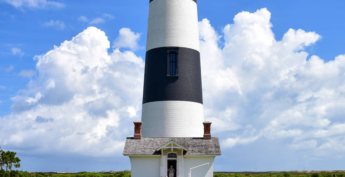 Lighthouse in North Carolina's Outer Banks