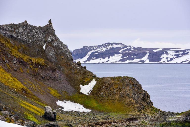 Barrientos Island in South Shetlands, Antarctica