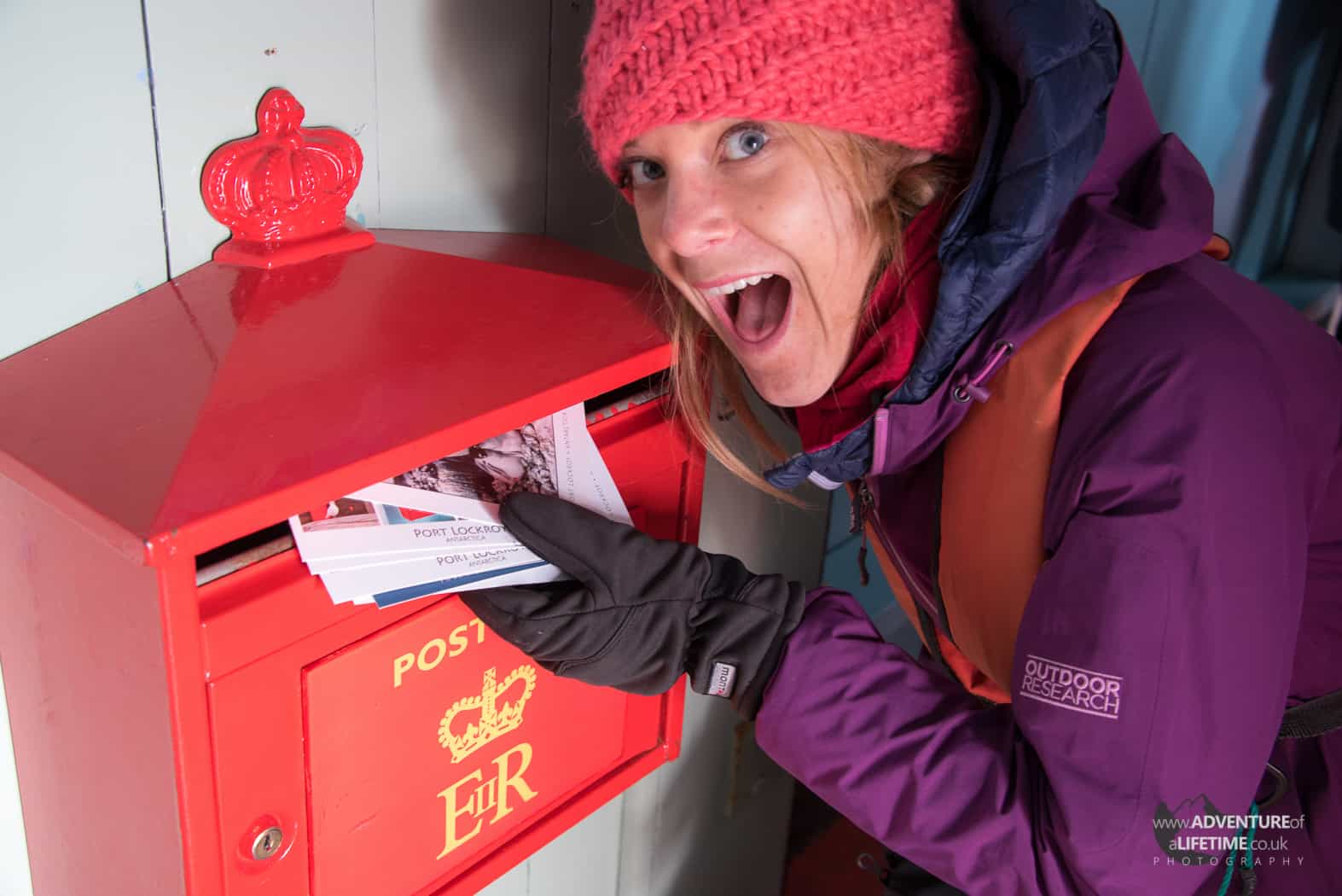 Dora Post Box at Port Lockroy, Antarctica